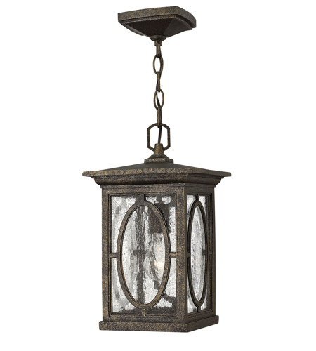 Hinkley 1492AM-LED Randolph LED 8 inch Autumn Outdoor Hanging Lantern photo
