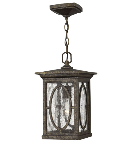 Hinkley 1492AM Randolph 1 Light 8 inch Autumn Outdoor Hanging Lantern in Incandescent photo