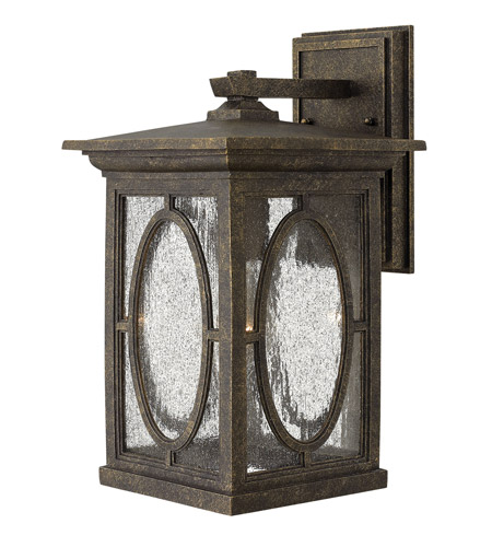 Hinkley 1494AM Randolph 1 Light 14 inch Autumn Outdoor Wall Lantern in Incandescent photo