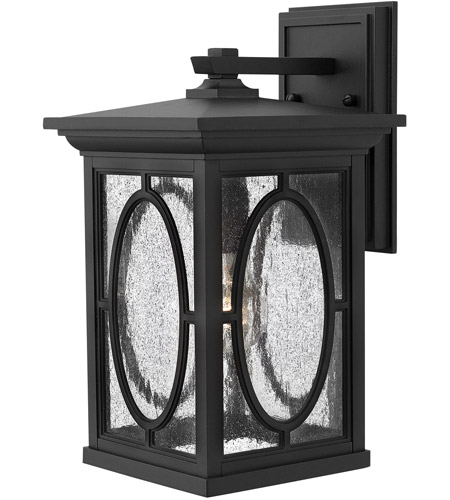 Hinkley 1494BK-LED Randolph 1 Light 15 inch Black Outdoor Wall in LED photo