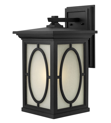 Hinkley 1495BK-GU24 Randolph 1 Light 20 inch Black Outdoor Wall in GU24 photo