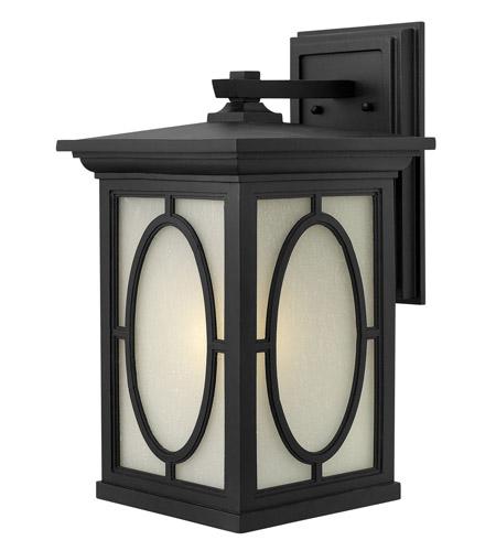 Hinkley Lighting Randolph 1 Light GU24 CFL Outdoor Wall in Black 1495BK-GU24