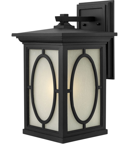 Hinkley Lighting Randolph 1 Light LED Outdoor Wall in Black 1495BK-LED