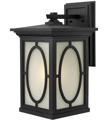 Hinkley Lighting Randolph 1 Light Outdoor Wall in Black 1495BK photo