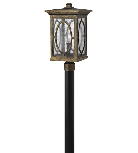 Hinkley 1499AM-GU24 Randolph 1 Light 21 inch Autumn Post Lantern in GU24 photo