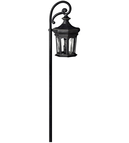 Hinkley Lighting Raley 1 Light Landscape Path in Museum Black 1513MB