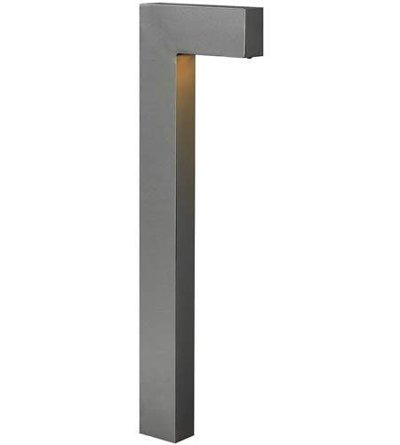 Hinkley Lighting Atlantis 1 Light Landscape Path in Hematite 1518HE-LED
