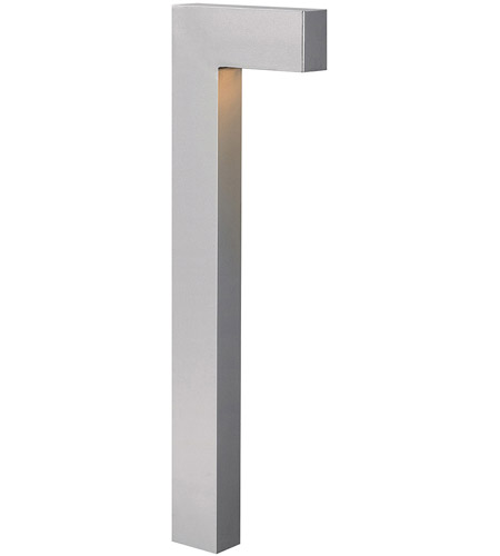 Hinkley Lighting Atlantis 1 Light LED Path in Titanium 1518TT-LED