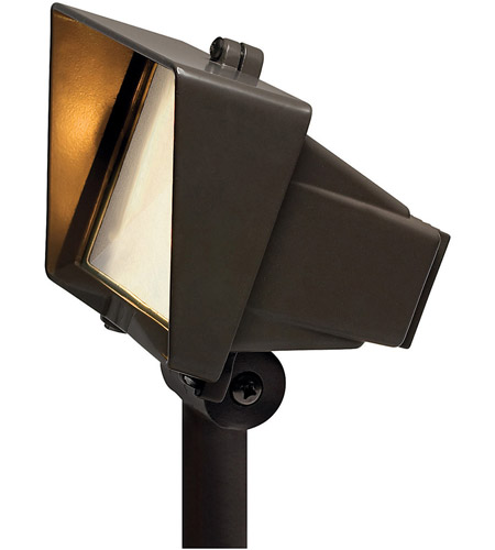 Hinkley Lighting Outdoor Low Volt 1 Light Landscape Spot in Bronze 1521BZ