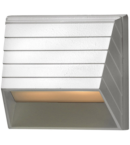 Hinkley Lighting Square Deck 1 Light Deck in Matte White 1524MW photo