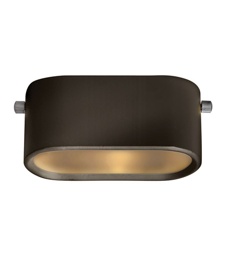 Hinkley Lighting Under Bench 1 Light LED Deck in Bronze 1526BZ-LED