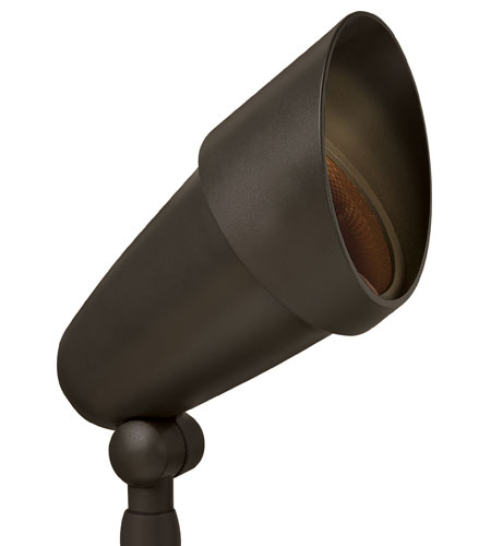 Hinkley Lighting Outdoor Low Volt 1 Light Landscape Spot in Bronze 1532BZ
