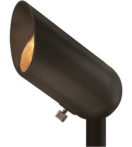 Hinkley Lighting Signature 1 Light Low Volt 50W MR16 Landscape Spot Accent in Bronze 1536BZ photo