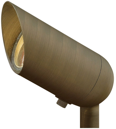 Hinkley Lighting LED Accent 1 Light 50W Equiv. 8W Flood Landscape in Matte Bronze 1536MZ-8WLEDFL