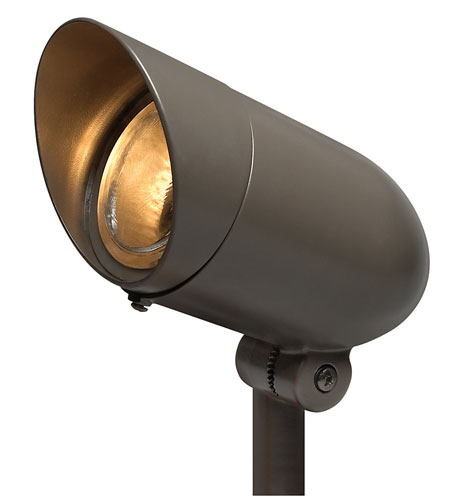 Hinkley Lighting Signature 1 Light LED Landscape Spot Accent in Bronze 1537BZ-4KLED30 photo