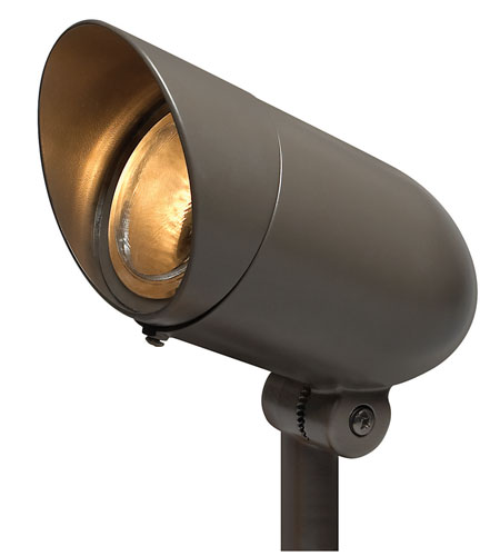 Hinkley Lighting Outdoor Low Volt 1 Light Landscape Spot in Bronze 1537BZ