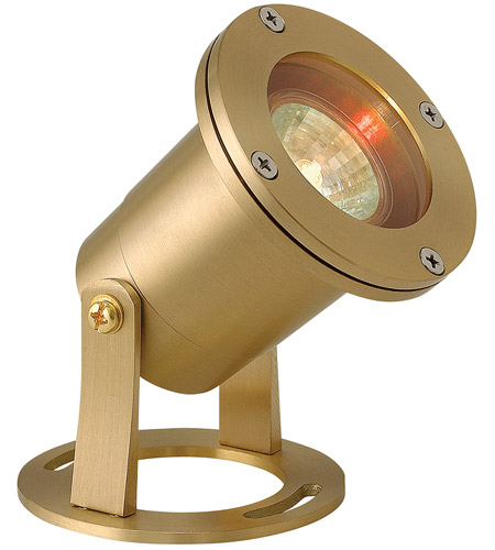 Hinkley 1539BS Signature 12V 50 watt Brass Landscape Pond Light photo