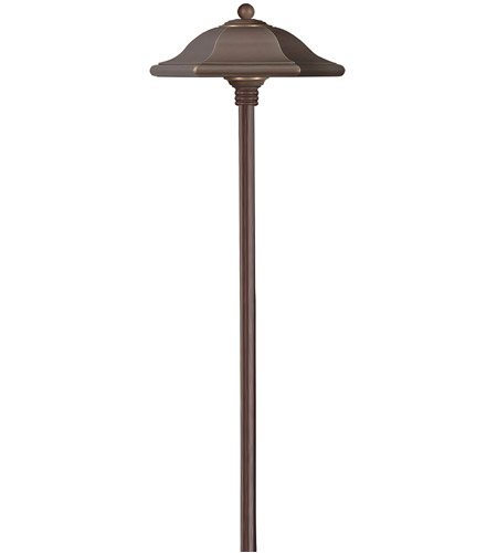 Hinkley Lighting Monticello 1 Light Landscape Path in Copper Bronze 1540CB