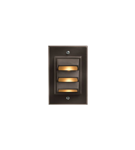 Hinkley 1542BZ-LED Signature 12V 1.5 watt Bronze Deck in LED, Vertical photo