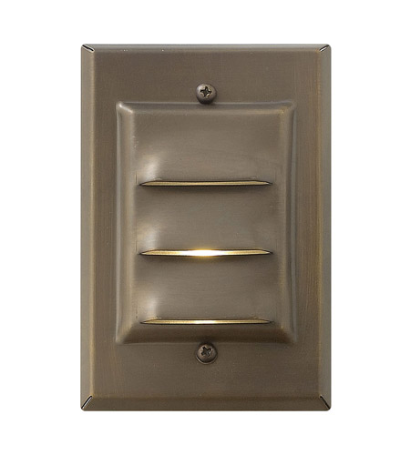 Hinkley 1542MZ-LED Hardy Island 12V 1.5 watt Matte Bronze Deck in LED, Vertical photo