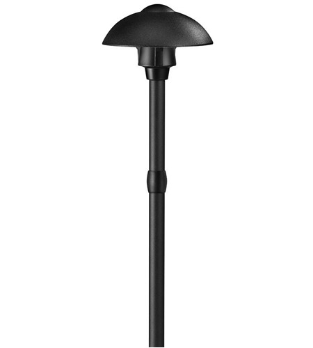Hinkley Lighting Ellipse 1 Light LED Path Light in Black 1544BK-LED