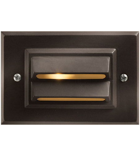 Hinkley Lighting Outdoor Low Volt 1 Light Landscape Deck in Bronze 1546BZ