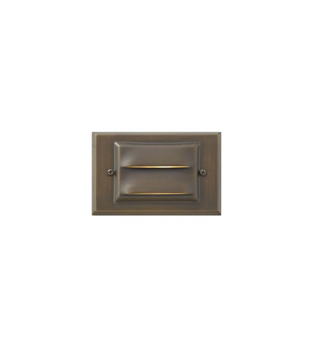 Hinkley Lighting LED Deck 1 Light LED Landscape in Matte Bronze 1546MZ-LED
