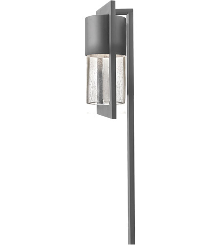Hinkley Lighting Dwell 1 Light Landscape Path in Hematite 1547HE