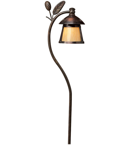 Hinkley Lighting Aspen 1 Light Path in Sienna Bronze 1554SZ