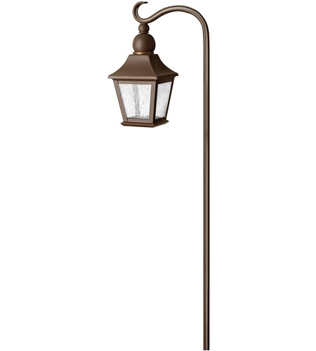 Hinkley Lighting Bratenahl 1 Light Low Volt Path in Copper Bronze 1555CB photo