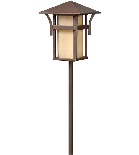 Hinkley Lighting Harbor 1 Light Landscape Path in Anchor Bronze 1560AR
