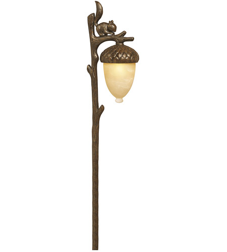 Hinkley 1568RB Squirrel 12V 18 watt Regency Bronze Path, Low Volt photo