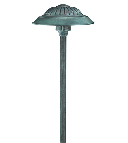 Hinkley Lighting Signature 1 Light Low Volt Path in Verde 1573VE photo