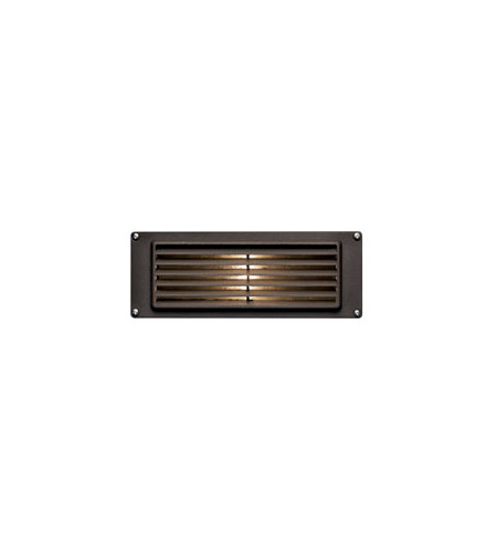 Hinkley 1594BZ-LED Signature 12V 3.8 watt Bronze Landscape Deck in LED, Louvered photo