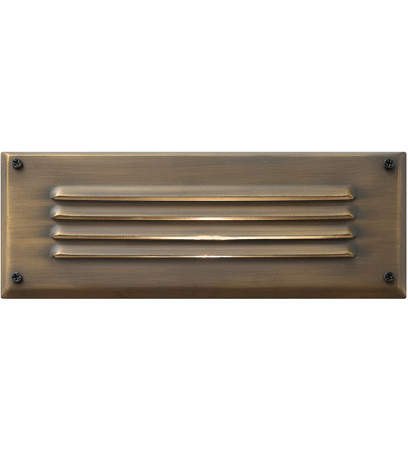 Hinkley Lighting Outdoor Low Volt 1 Light Landscape Brick in Matte Bronze 1594MZ