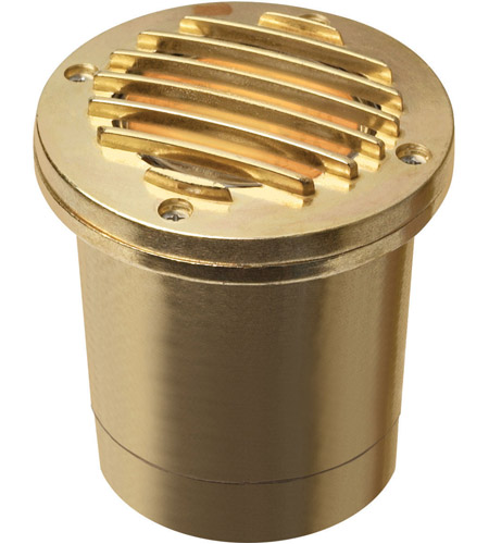 Hinkley 1599BS Signature 12V 50 watt Brass Well Light, Low Volt photo