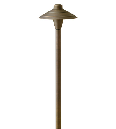 Hinkley Lighting Hardy Island 1 Light Landscape Path in Matte Bronze 16001MZ