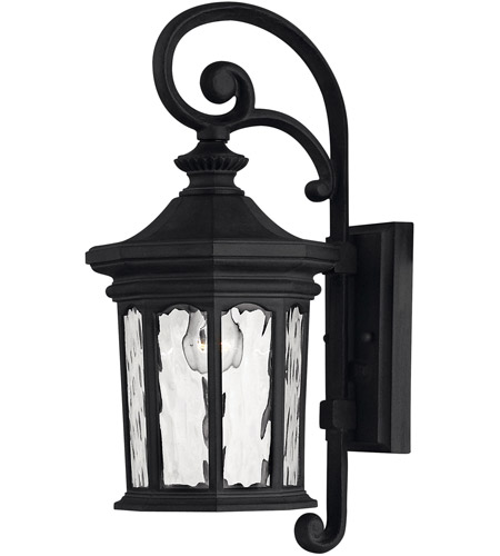 Hinkley Lighting Raley 1 Light LED Outdoor Wall in Museum Black 1600MB-LED