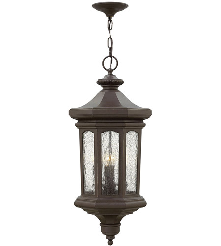 Hinkley 1602OZ-LL Raley LED 12 inch Oil Rubbed Bronze Outdoor Hanging Light photo