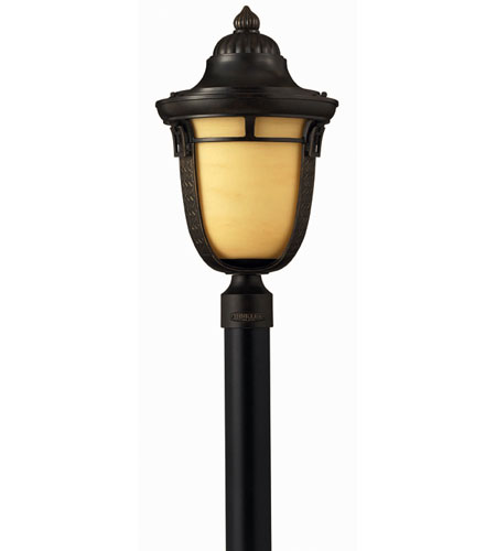 Hinkley Lighting Key West 1 Light Post Lantern (Post Sold Separately) in Regency Bronze 1611RB-ES photo
