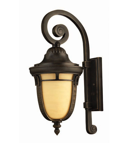 Hinkley Lighting Key West 1 Light Outdoor Wall Lantern in Regency Bronze 1614RB