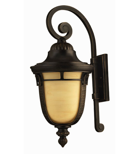 Hinkley Lighting Key West 1 Light Outdoor Wall Lantern in Regency Bronze 1615RB-ES