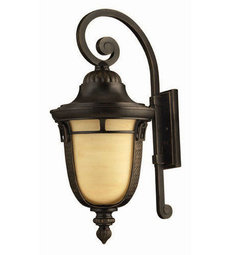 Hinkley Lighting Key West 1 Light Outdoor Wall Lantern in Regency Bronze 1615RB photo