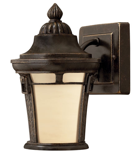 Hinkley Lighting Key West 1 Light GU24 CFL Outdoor Wall in Regency Bronze 1616RB-GU24 photo