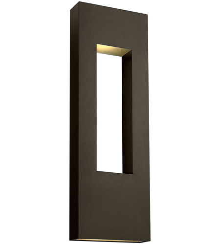 Hinkley 1639BZ Atlantis 3 Light 36 inch Bronze Outdoor Wall Mount in GU10, Extra Large photo