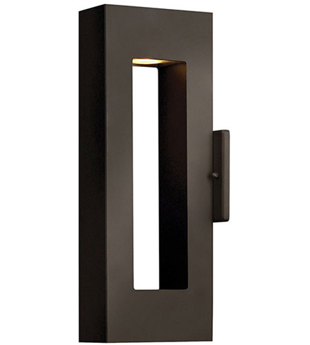 Hinkley Lighting Atlantis 2 Light Outdoor Wall Lantern in Bronze 1640BZ-LED