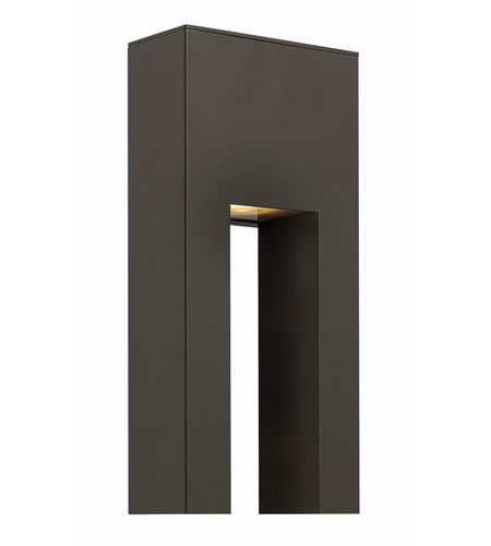 Hinkley Lighting Atlantis 1 Light Outdoor Wall in Bronze 1642BZ-LED