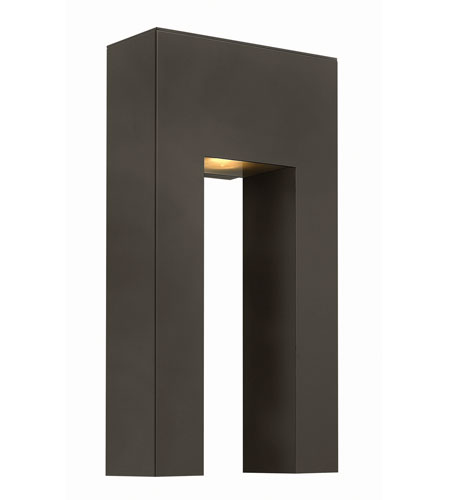 Hinkley Lighting Atlantis 1 Light Outdoor Wall in Bronze 1643BZ-LED