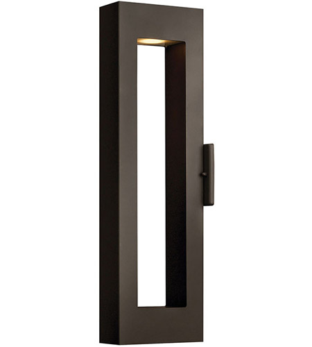 Hinkley 1644BZ Atlantis 2 Light 24 inch Bronze Outdoor Wall Mount in MR-16, Medium photo