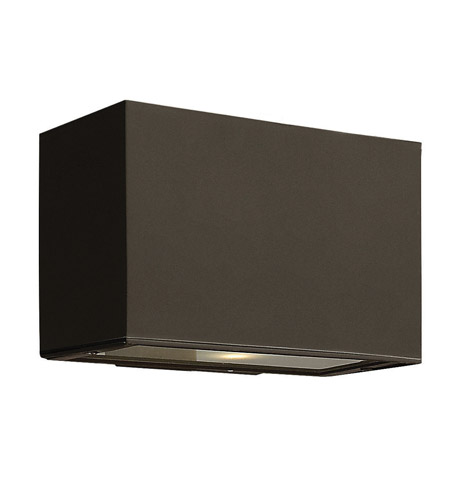 Hinkley 1645BZ-GU24 Atlantis 1 Light 5 inch Bronze Outdoor Wall in GU24 photo